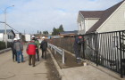 Pavimentación de calle en Llau – Llao presenta 90 por ciento de avance