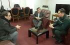 Nuevo alcaide del CDP de Castro se presenta ante gobernador provincial