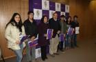 Estudiantes castreños recibieron certificados por ser favorecidos con Beca Municipal 2016