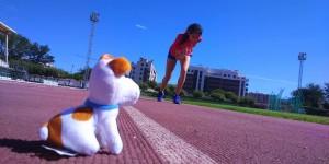 Castreña se prepara en España para competir en Río de Janeiro 2016
