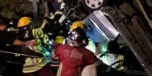 Accidente de transito deja dos victimas fatales.