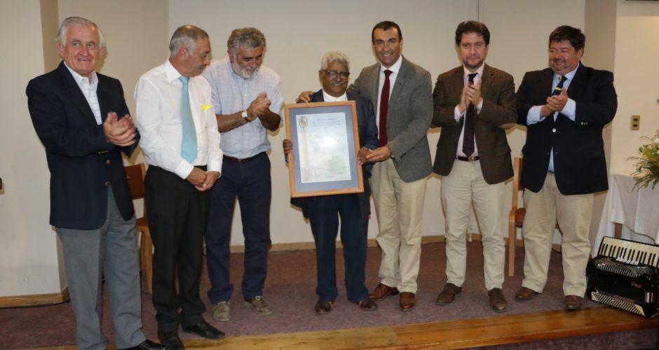 El arquitecto Edward Rojas recibió Premio Chiloé de Extensión Cultural 2017.