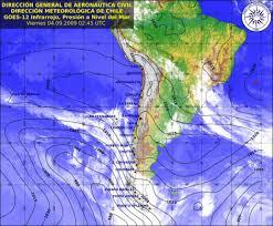 Se declara alerta temprana por ingreso de frente de mal tiempo a Chiloé.