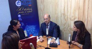 Director Nacional de Senda Previene visita Provincia de Chiloé.