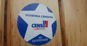 Castro: un 80 % de cobertura tuvo el censo en la comuna.