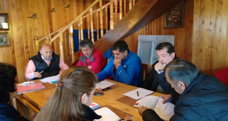 Consejeros Regionales se reúnen con vecinos de Llau Llao.
