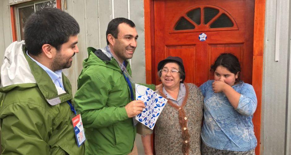 Castro: avanza desarrollo del censo.