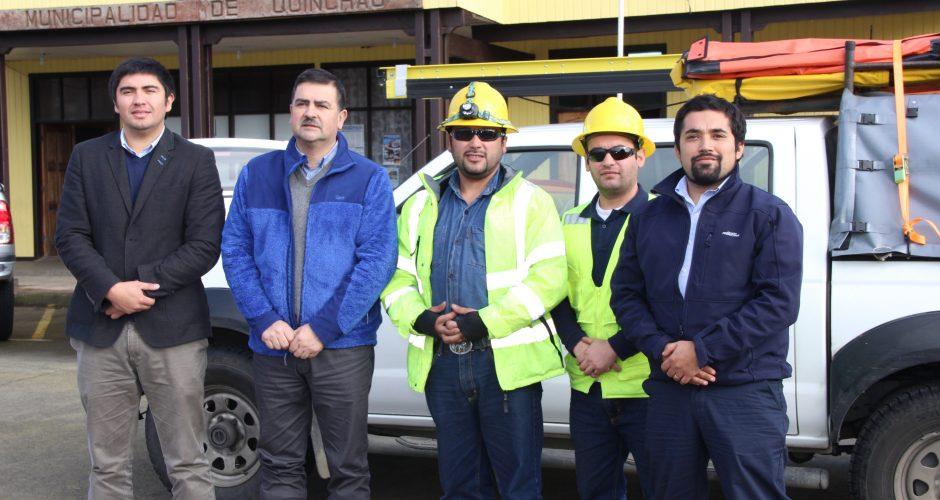 Quinchao: empresa eléctrica instaló brigada para solucionar requerimientos de la isla.