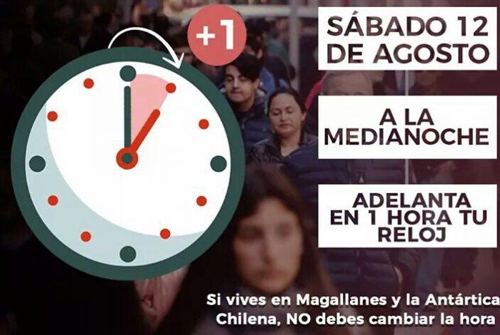 Nacional: comienza a regir nuevo horario de verano.
