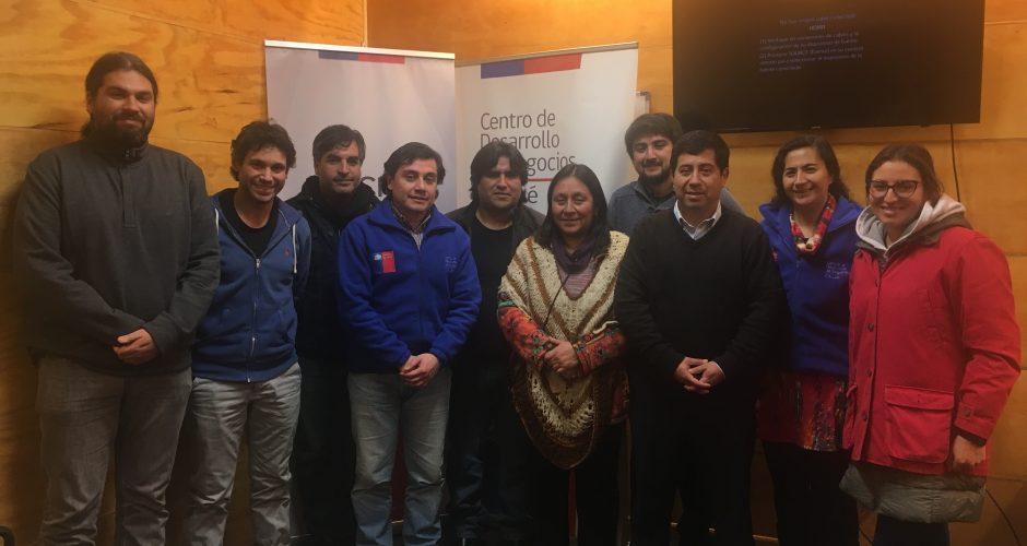 Chiloé: emprendedores con potencial exportador se capacitan para participar en concurso.