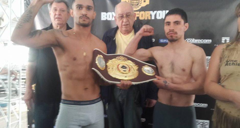 Título chilote de boxeo en Brasil