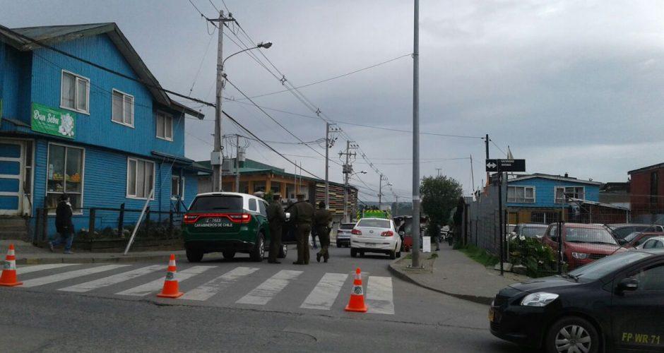 Castro: fuga de gas se produjo en la Nueva Feria José Sandoval.