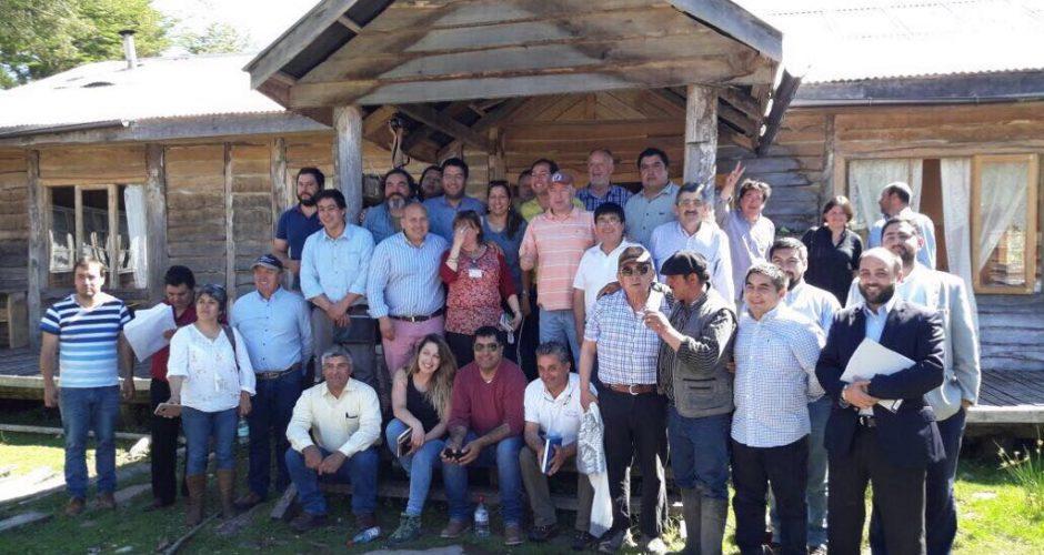 Chaitén: Consejeros Regionales conocen en terreno situación de Villa Santa Lucia.