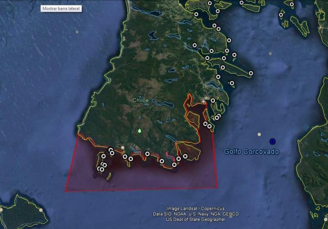 Quellón: se amplia zona de prohibición de extracción de mariscos.