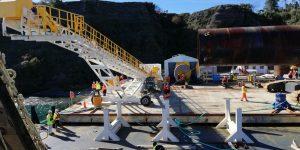 Chiloé: Senador Moreira desestimó duros cuestionamientos y denuncias a construcción de puente sobre canal de Chacao.
