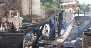 Castro: finalizan pericias a sitio del suceso en investigación por incendio ocurrido el fin de semana.
